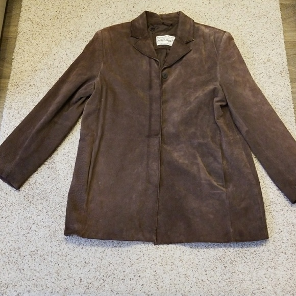 2a747ee70ebb Lord & Taylor Jackets & Coats | Vintage Lord Taylor Suede Jacket ...